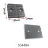 Rectangular 2 post lift, 4 post Lift and alignment lift Rubber pad|Sarv India