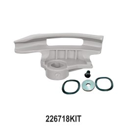 Grey Tapered Low-Profile Mount / Demount Tool Head Kit for Tyre changer