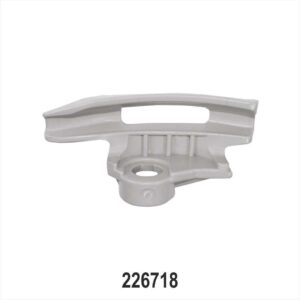 Grey Tapered Low-Profile Mount / Demount Tool Head for Tyre changer