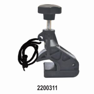 Tyre Changer Rim Clamp for Low Profile Tyres with rope
