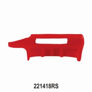 Red Plastic protector for Mount Demount Tool Head 221418 & 222118