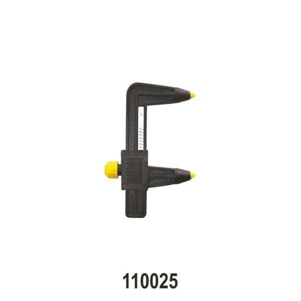 PCD Measuring Tool for 3, 4, 5 Lugs (95-160 MM)