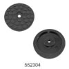 Round Rubber Pad for 2 Post Lift| Sarv India