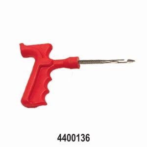 4″ Side Split Eye Needle in Pistol Grip Tyre Repair Tool