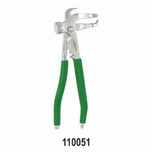 Wheel Balancing Weight Plier& Hammer Tool (Premium)- Green Grip